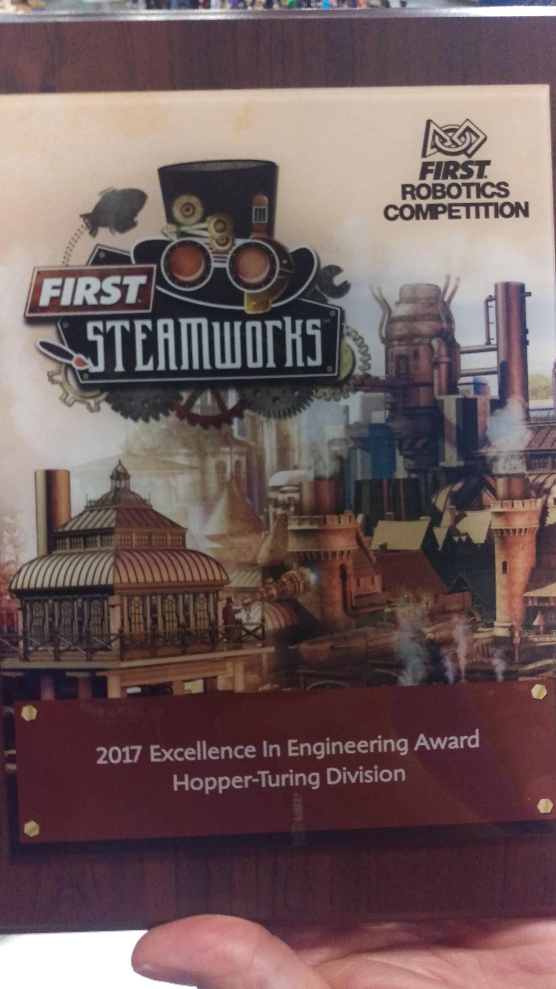 Excellence in Engineering Award from 201 Houston Championships
