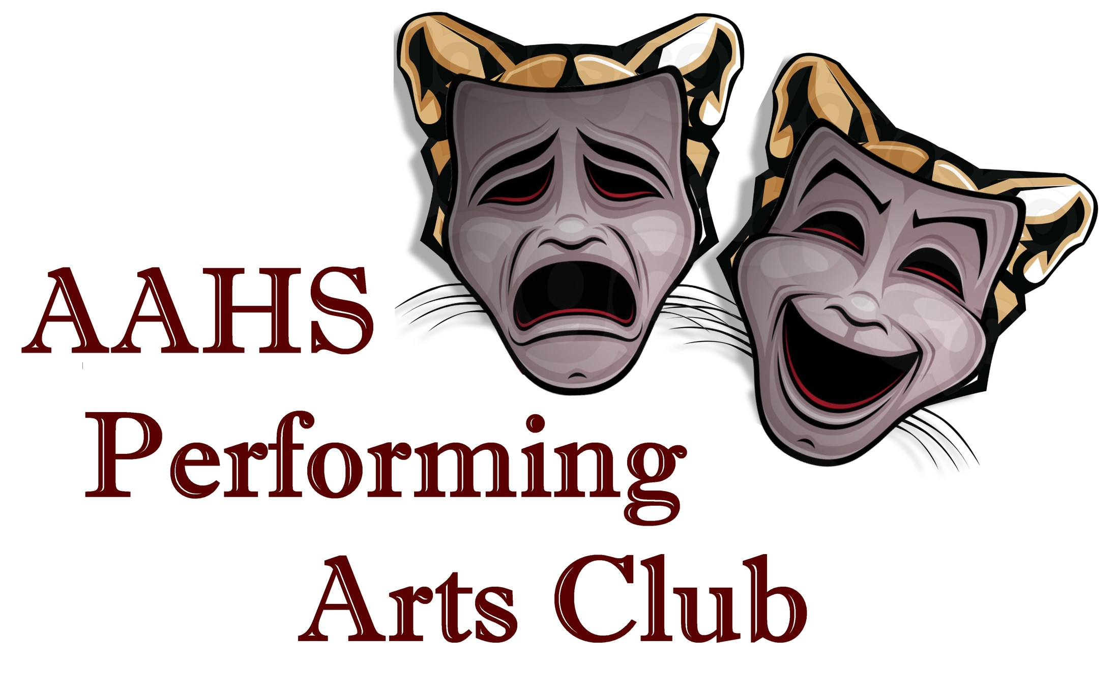 AAHS Performing Arts Club Logo