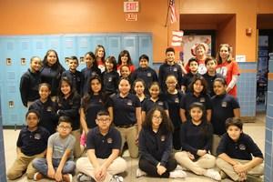 7th grade class