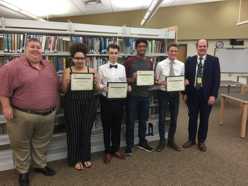 BRHS Students nominated for six 2018 Greater Philadelphia Cappie Awards Thumbnail Image