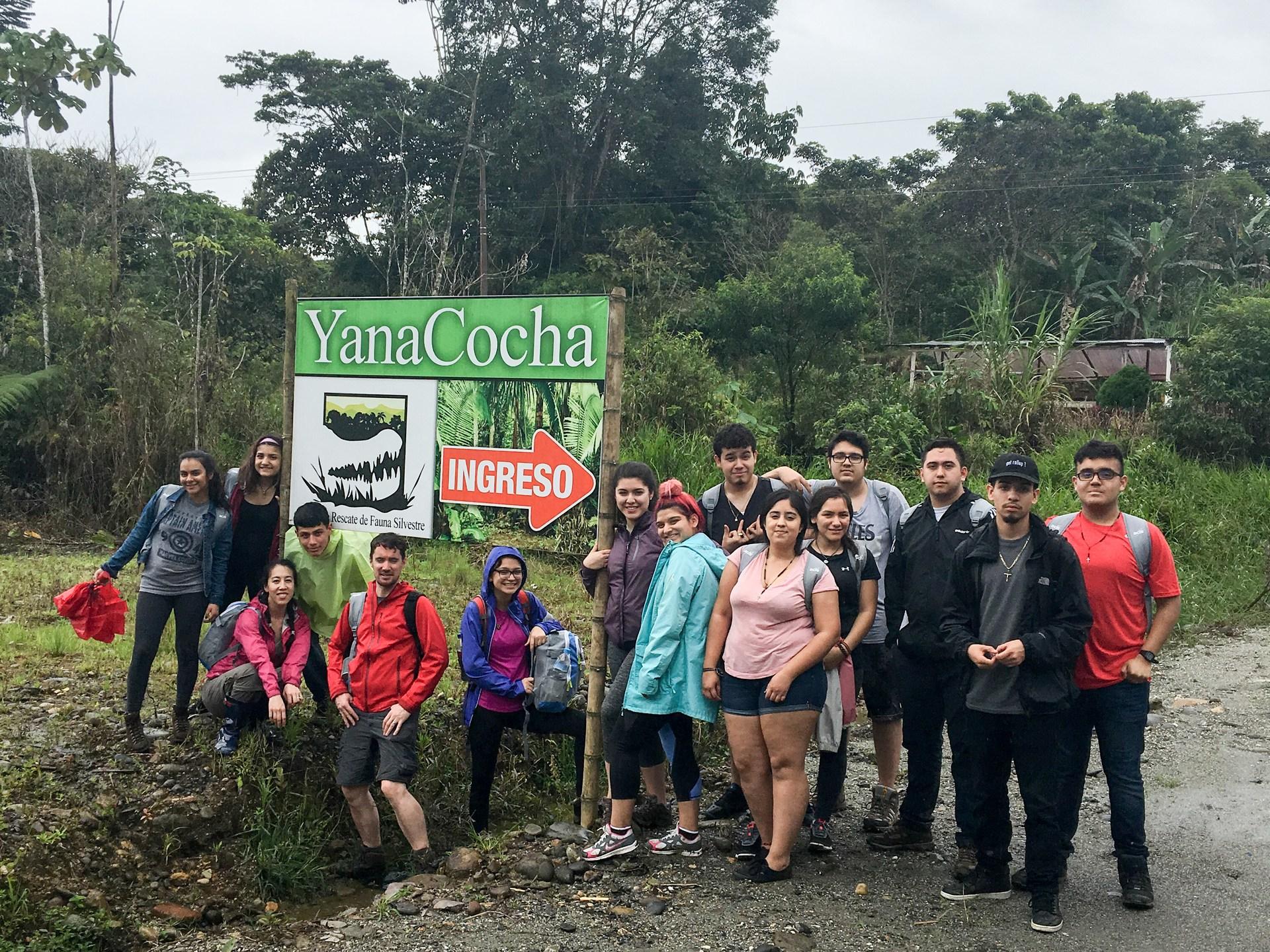 YanaCocha wildlife refuge.