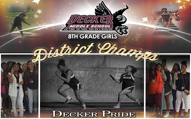 Decker 8th Grade Girls Win District Thumbnail Image