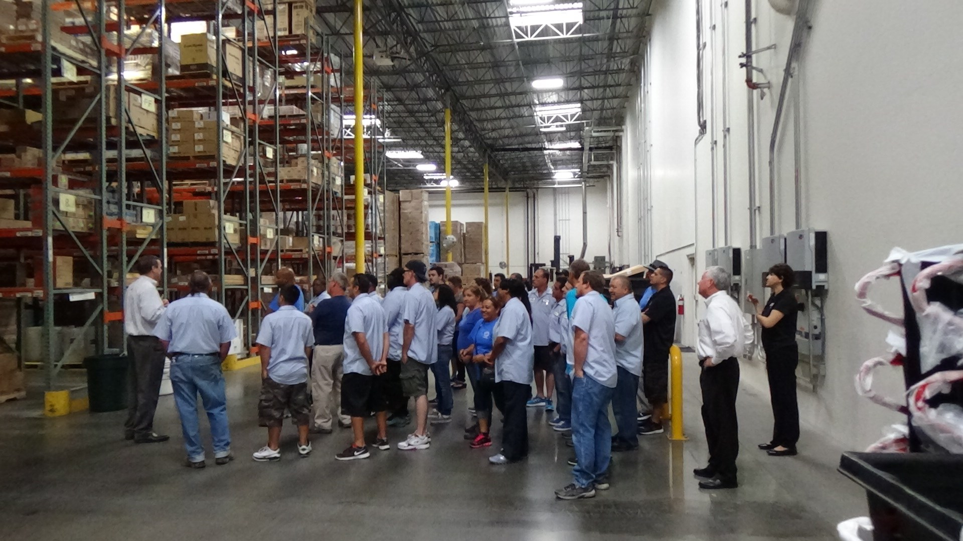 Tour of Waxie Janitorial Supply Company