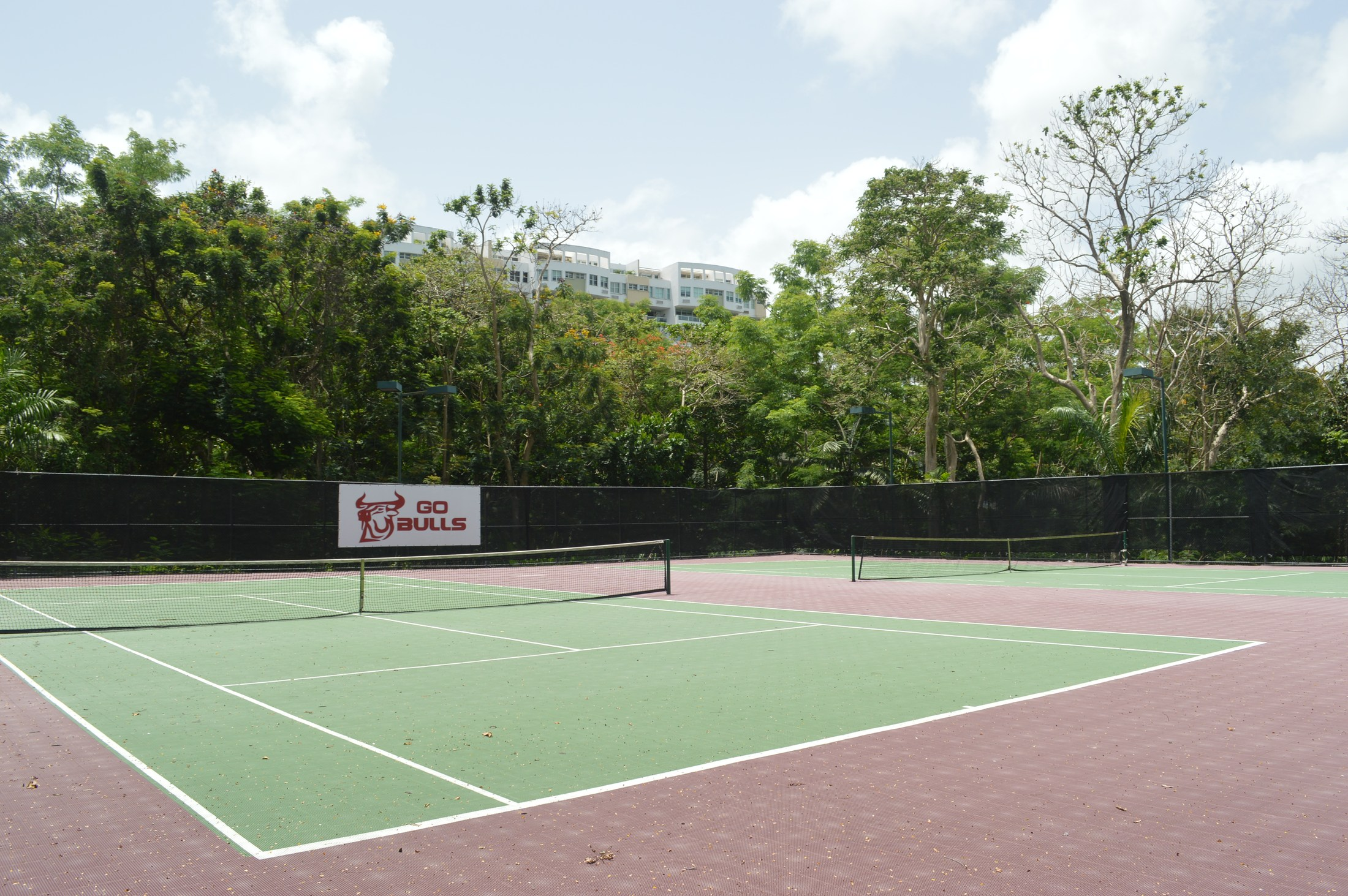 Baldwin School tennis courts