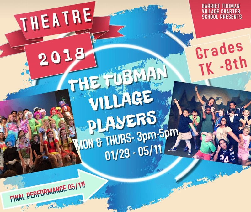 A New Theatre Program for Tubman! Featured Photo
