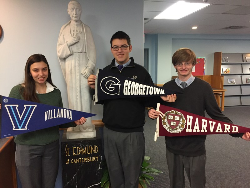 Early Action College Acceptances for the Class of 2017