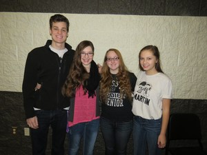 TKHS students earn spots in state honors choir.