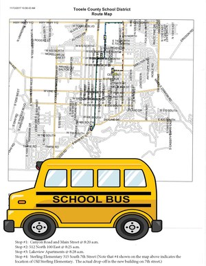New bus routes for Sterling Elementary