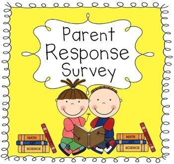 parent involvement survey
