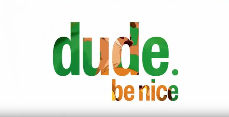 dude. be nice