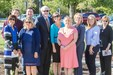NKHS Brick Ceremony posed photo