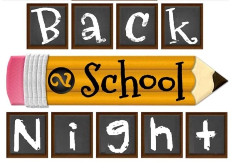 Upcoming Back to School Nights Thumbnail Image