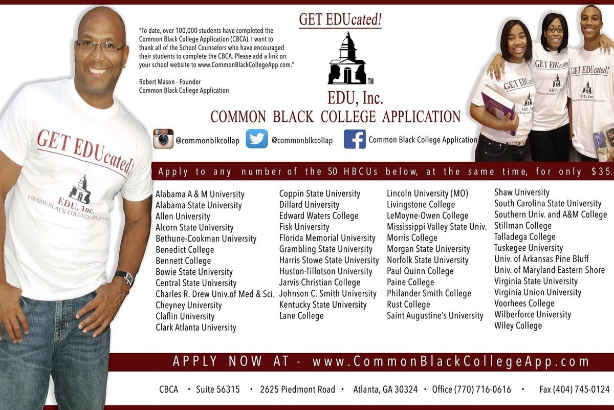 Common Black College Application
