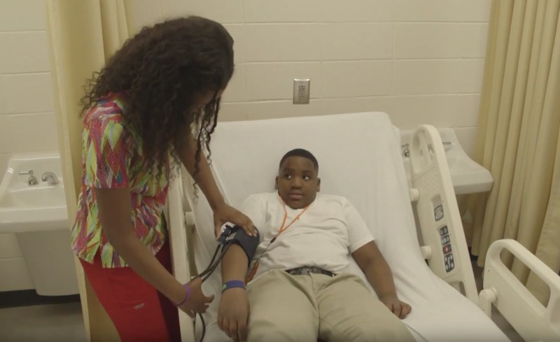 VIDEO: Elementary Career Day Gives Students a Chance to See Professions Up Close Thumbnail Image