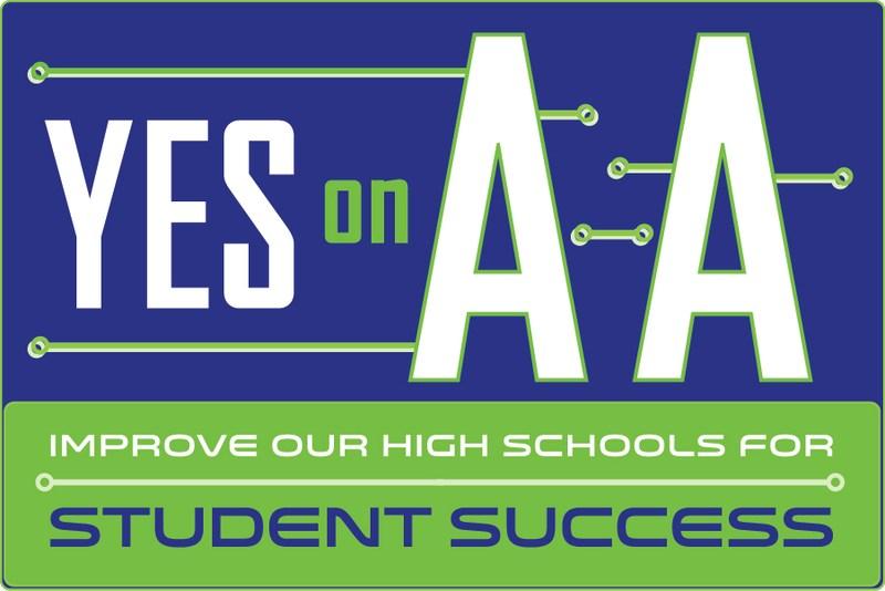 C.U.H.S.D. Measure AA logo