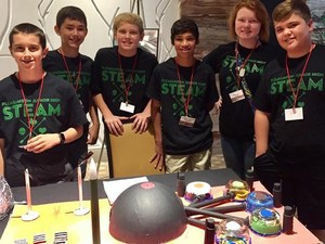 JH STEAM students attending the Cities in Space Student Design Contest and Conference