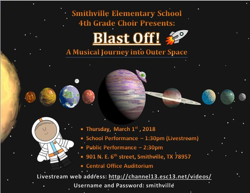 4th Grade Musical March 1st to be Livestreamed Thumbnail Image