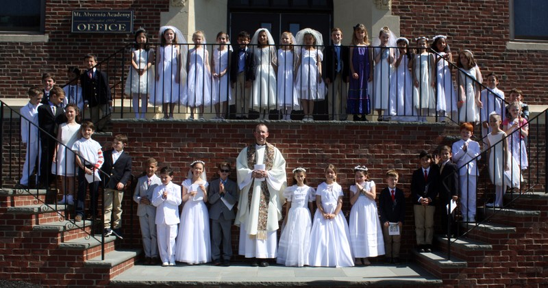 First Communion at MAA Featured Photo