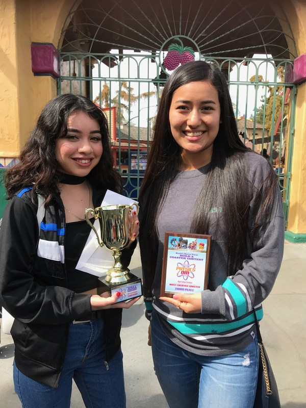 Knott's Physics Day 3rd Place Finish - Candifornia! Thumbnail Image
