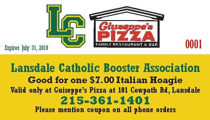 LCAB Hoagie Coupon Fundraiser Featured Photo