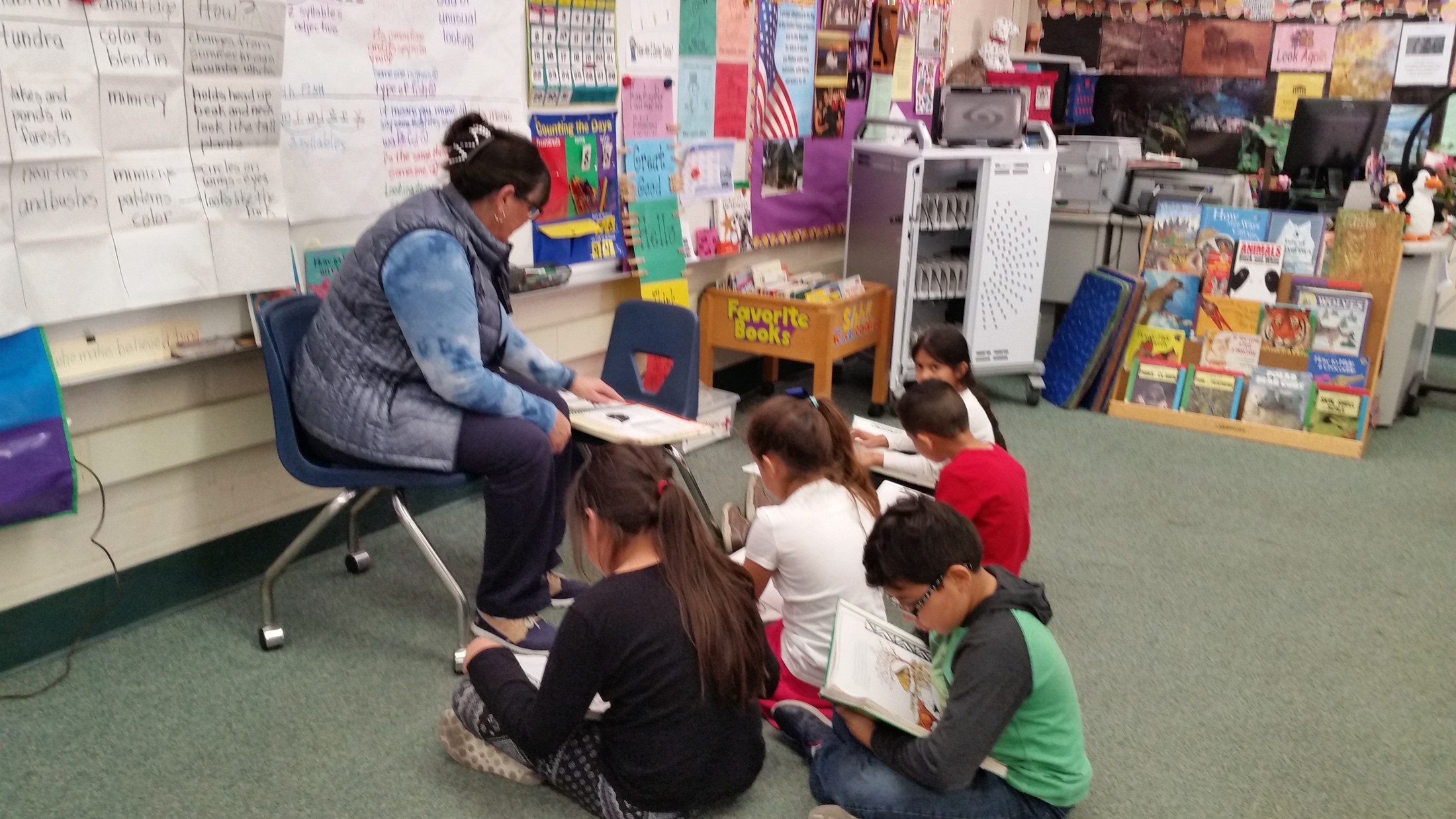 Reading with Mrs. O'Neill