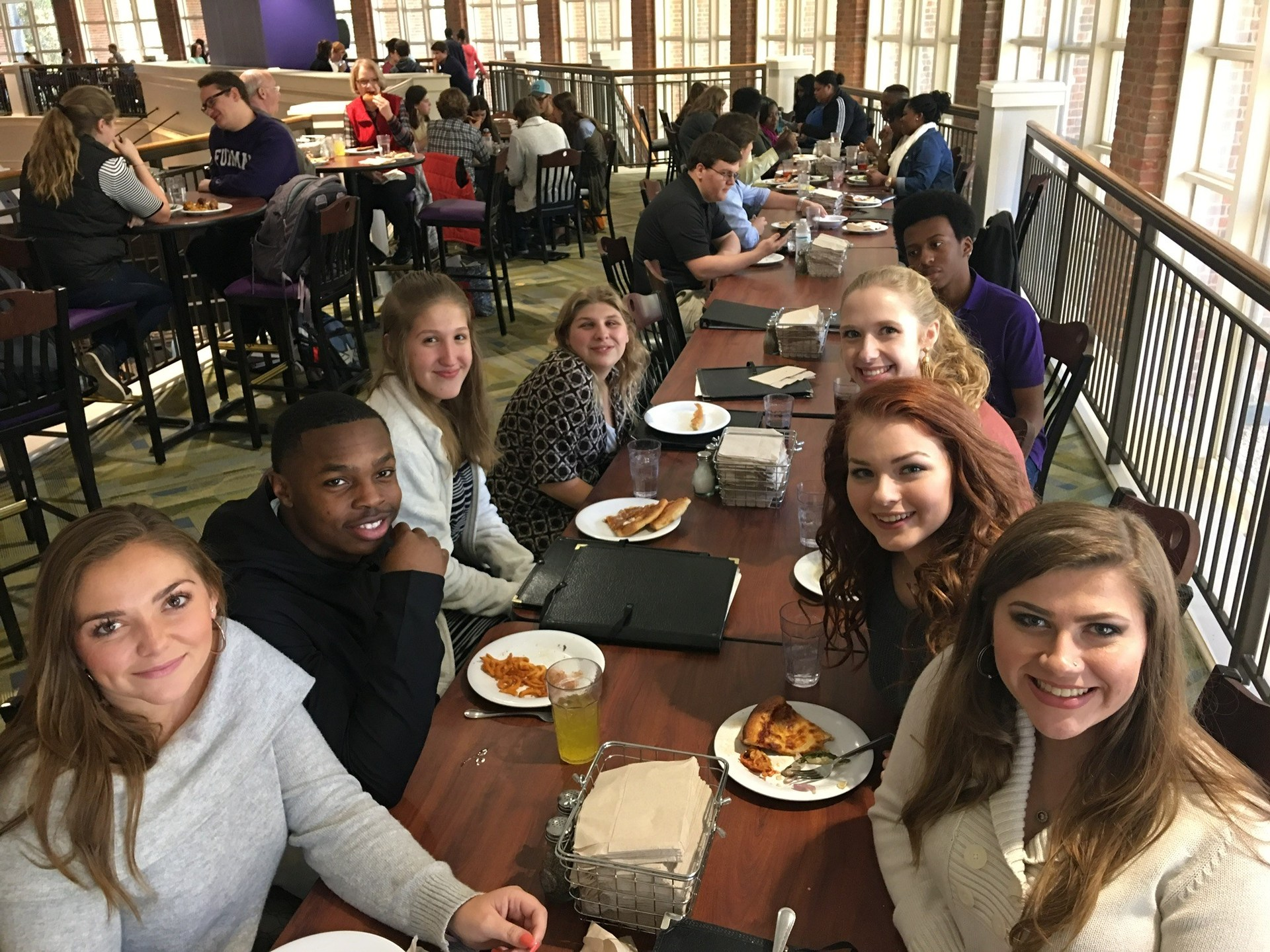 Lunch at Furman University