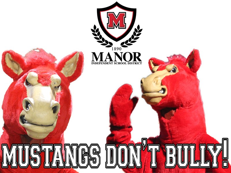 Manor Mustang mascot
