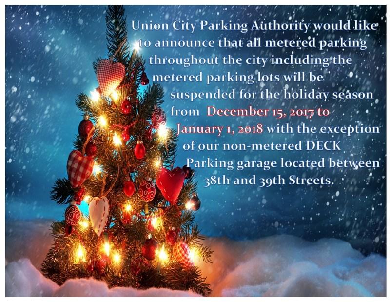 Free Street Parking flyer