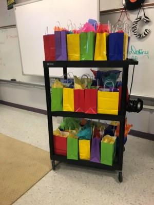 Gift bag for seniors