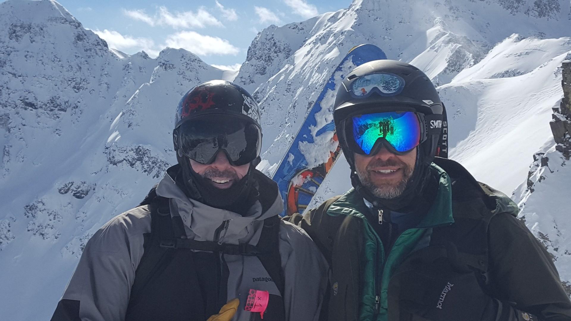 A little Silverton Skiing