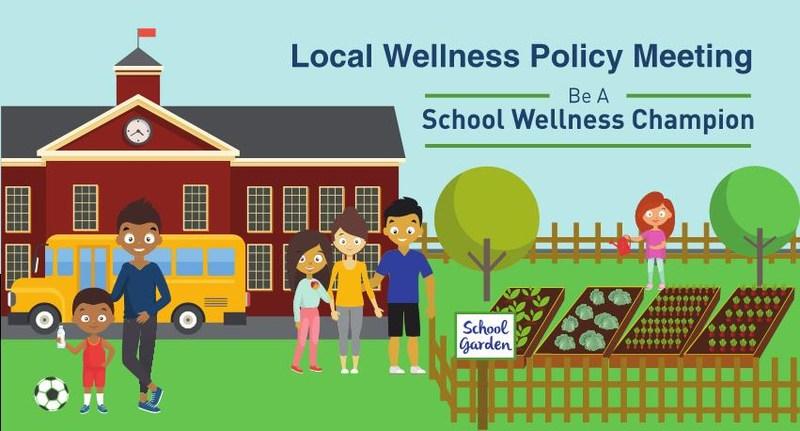 School Wellness Campaign poster