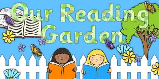 Reading Garden!