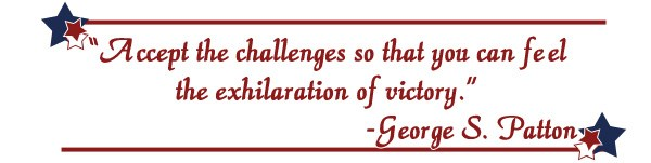 George S. Patton quotation