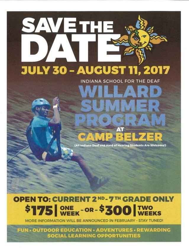 Willard Flyer Summer 2017