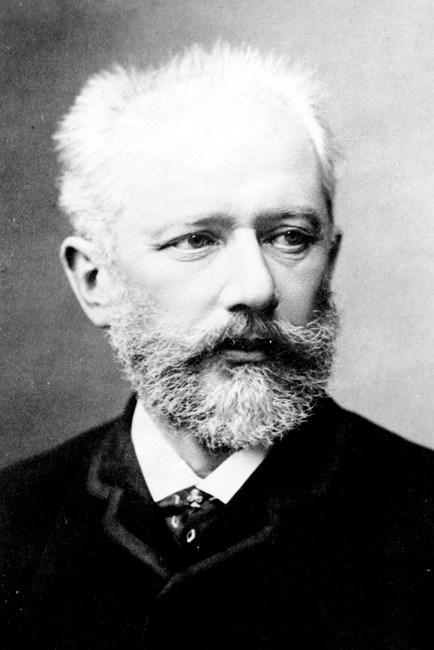 A photograph of Tchaikovsky