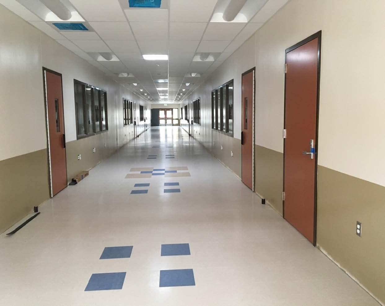 Building E Corridor
