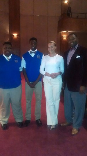 Men of Influence with Tammie Holland, radio personality.