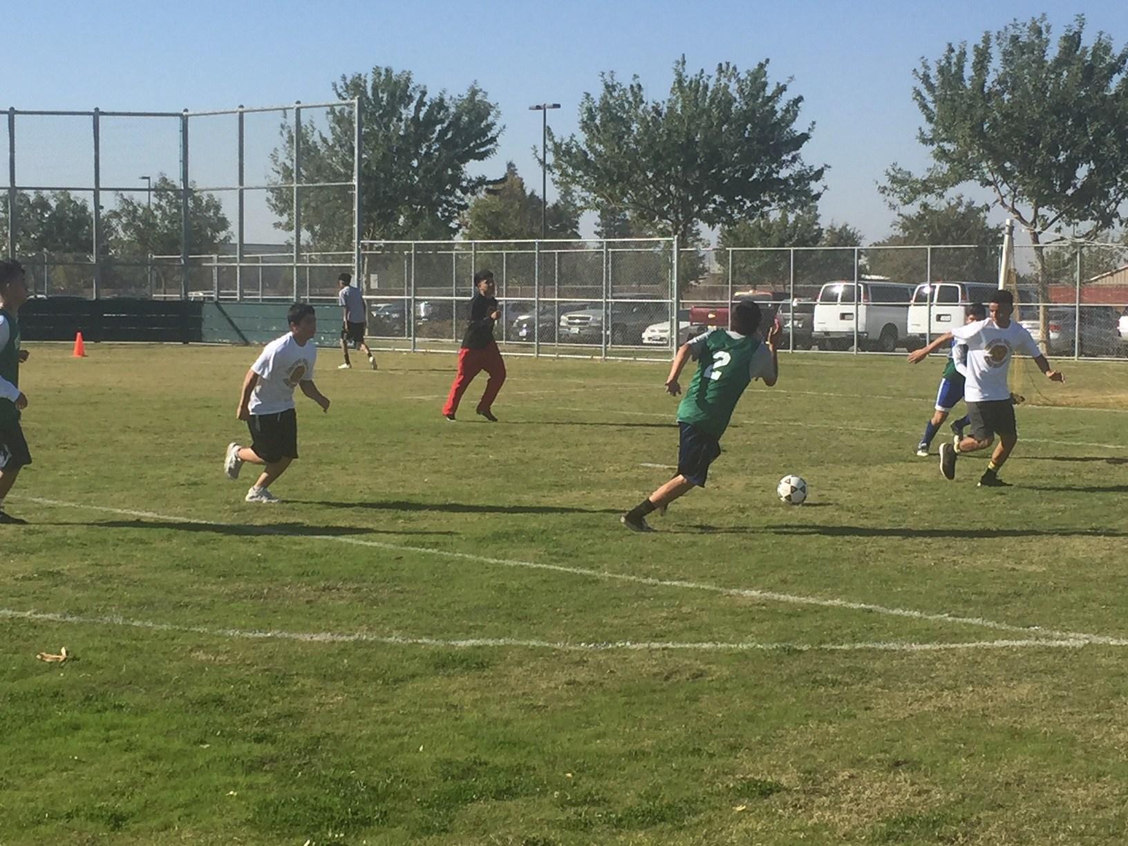 Soccer teamSoccer team