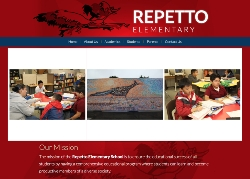 Repetto Elementary School website new launched.