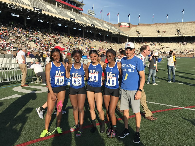 UC girls 4x400 sizzles with 3rd place finish at the 123rd Penn Relays Thumbnail Image