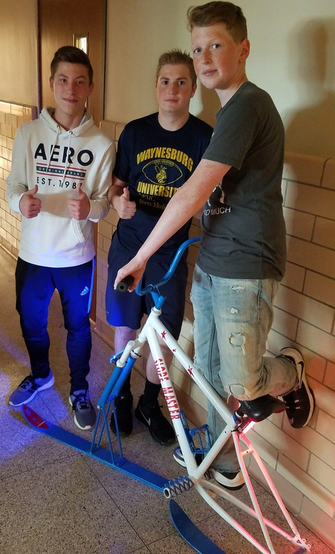 8th Grade Boys to Compete in Regional Inventionland Competition Thumbnail Image
