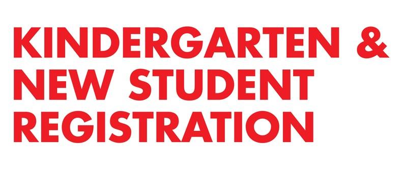 KINDERGARTEN/NEW STUDENT REGISTRATION Thumbnail Image
