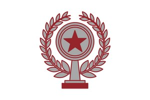 award icon with star