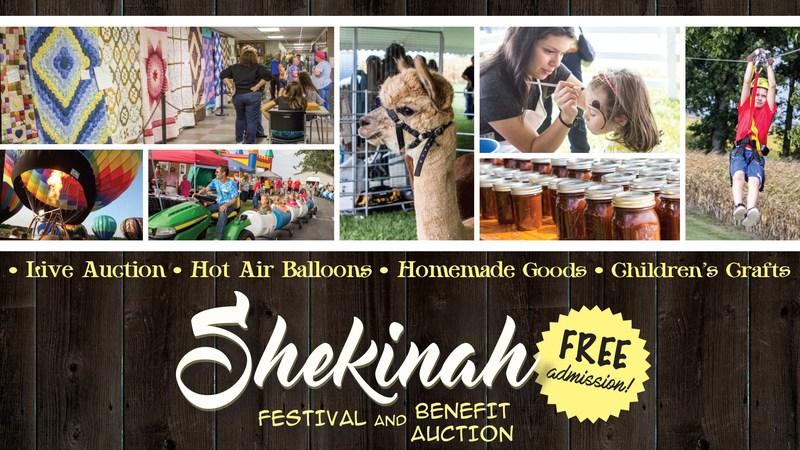 Shekinah Festival and Benefit Auction - September 8-9, 2017 Thumbnail Image