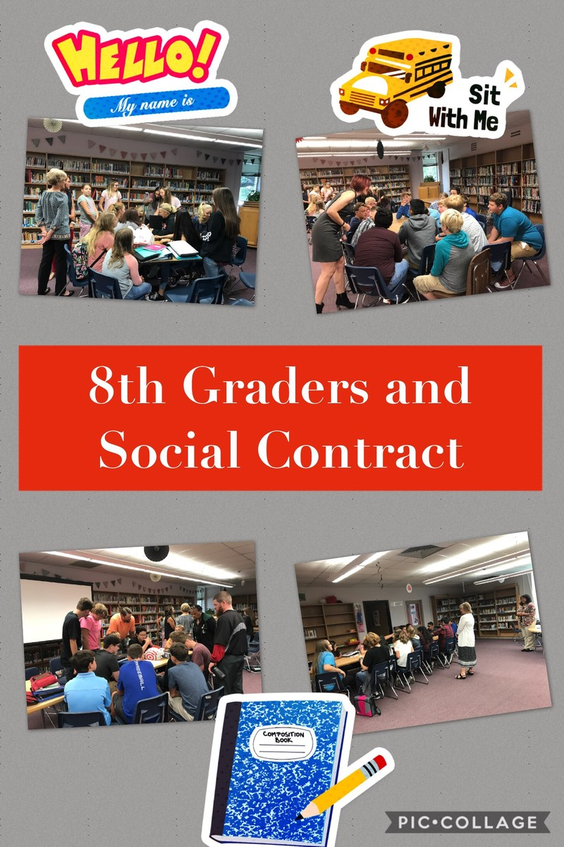 HJH Students Start Year with Social Contracts Thumbnail Image