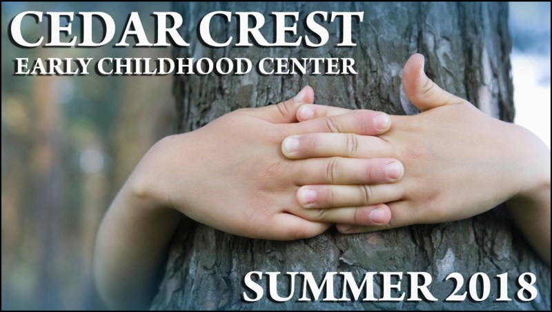 Enrolling Now for Cedar Crest Early Childhood Center Summer Programs! Featured Photo