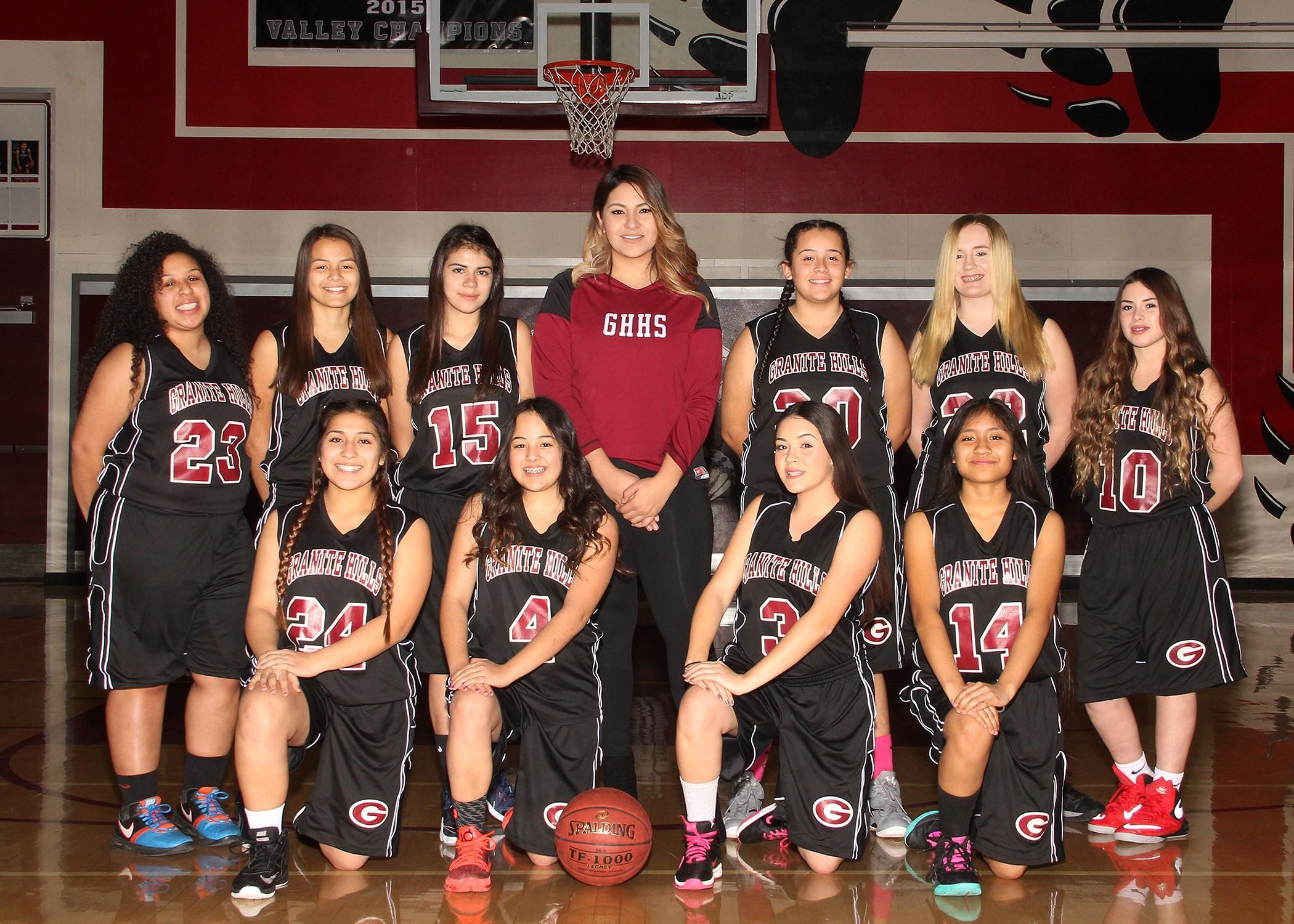 Freshmen Lady Basketball