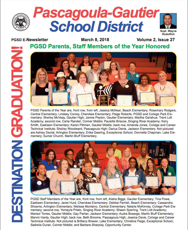 PGSD eNewsletter, Volume 2, Issue 27