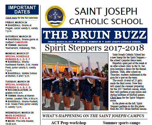 The Bruin Buzz, March 24 Thumbnail Image