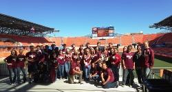 MWHS DECA students at BBVA Compass Stadium November 2014.jpg